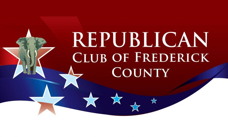 I will be at the Republican Club of Frederick County meeting at the Red Horse in Frederick, MD, with guest speaker State Delegates Jesse Pippy and Neil Parrott. I hope to see everyone there.